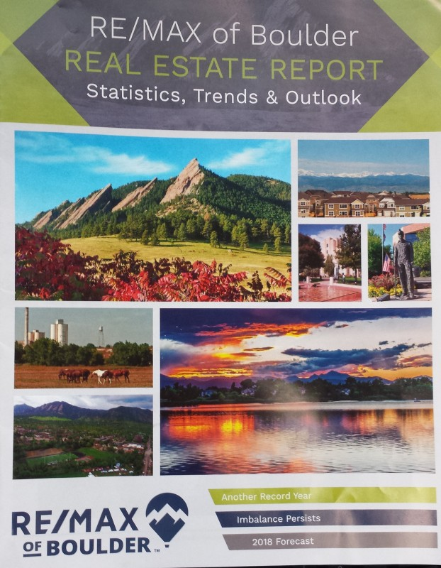 RE/MAX of Boulder 2017 Real Estate Report and 2018 Forecast