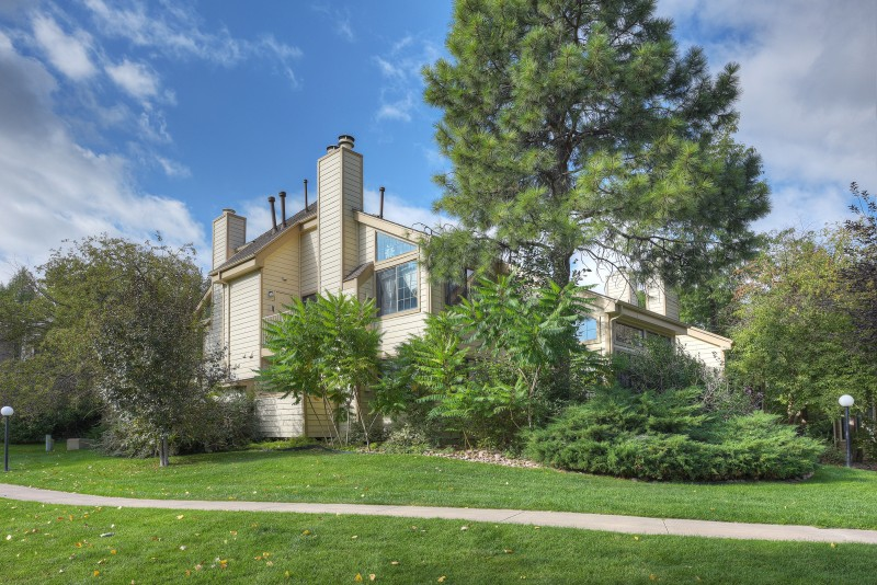 Rare Ground Level 2 BR Bath Condo In The Sought After Powderhorn Community Gunbarrel Area Overlooks Greenway And Is Steps Away From HOA Pool
